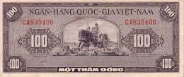 VIET-NAM 100  Dong  Non Daté  Emission De 1955   Pick 8     ***** QUALITE  XF-  ***** - Vietnam