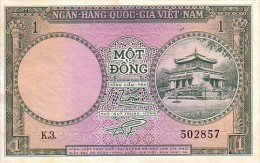 VIET-NAM 1  Dong  Non Daté  Emission De 1956  Pick 1 A    ***** QUALITE  XF  ***** - Vietnam