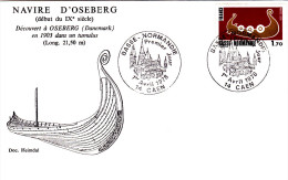 CAEN 1 ER AVRIL 1978 PREMIER JOUR - Stamp's Day