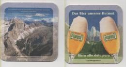 Alt491 Sottobicchiere Birra, Beer Mat Coaster Bier Deckel Posavasos Sous Bock Biere Forst, Montagne Dolomiti - Sous-bocks