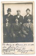 LAKEWOOD, OH, Real Photo Postcard MEMBERS OF DANISH Help Organization Immigrants CHAS DAVIS PHOTOSTUDIO Sent 1911 - Etats-Unis