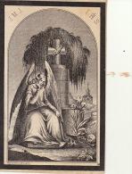 Faire Part De Décès Josef Cops Mottie Thienen Tirlemont 1780-1862 - Images Religieuses