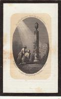Faire Part De Décès GA Waereggers Schaerbeek 1817 - 1864 - Images Religieuses