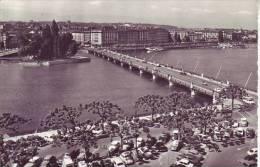 SUISSE - GENEVE - D9 705 -  Ile JJ Rousseau Et Le Pont De Mont Blanc - Nr 7072 Jaeger à Geneve - GE Genève
