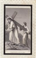 Faire Part De Décès Catherine Van Calck Van Lamperen 1866 - Images Religieuses