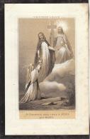 Faire Part De Décès Jean Charles Joseph Dorez Général Saint Josse Ten Noode 1861 - Images Religieuses