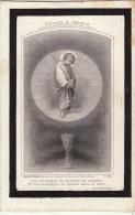 Faire Part De Décès Adèle Vereecken 1870 - Images Religieuses