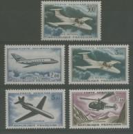 FRANCE 1959 - 1965 VARIOUS AIRCRAFT X5 MNH ** - Non Classificati