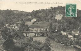 Puy De Dome : Environs De Chateauneuf Les Bains, La Sioule Au Pont De Braynant - Other Municipalities