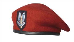 Boina SAS. Special Air Service. Reino Unido. 2ª Guerra Mundial. 1939-1945 - Cascos