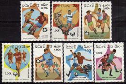 LAOS    N° 692/98   * *   ( Cote 6.20e ) Cup 1986   Football  Soccer  Fussball - Coppa Del Mondo
