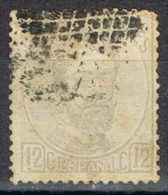 Sello 12 Cuartos Amadeo 1872, VARIEDAD Impresion, Num 122 º - 1872-73 Reino: Amadeo I