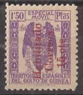 GUI259D-L4128TSC.Guinee .GUINEA ESPAÑOLA.FISCALES .1939/41.(Ed  259 D)sin Goma.RARO.MAGNIFICO - Sellos