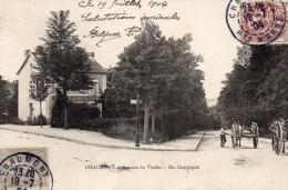 CPA  -   CHAUMONT  (52)   Avenue Du Viaduc  -  Ma Campagne  ( Café - Restaurant ) - Chaumont