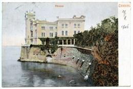 Triest, Trieste, Miramar, Miramare, M.M.T. Nr. 127, 29.9.1906 - Trieste