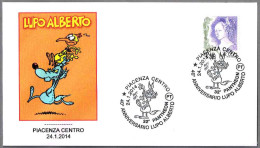 32 PANTHEON - COMICS - 40 Aniv. LUPO ALBERTO. Piacenza 2014 - Fumetti