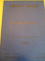 Appareils Sanitaires/ Compagnie Anglaise/The Paris Earthenware C° Ltd/INVICTA/1930        CAT52 - Cataloghi