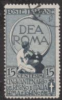REGNO - 1911 50° Dell´Unità D´Italia C.15+5 - Mi. 103 - Sass. 95 - 1v. Usato - Oblitérés