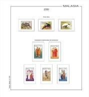 Suplemento Filkasol MALASIA 2009 - Montado Hawid - Pre-Impresas