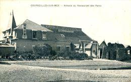 N°36967 -cpa Courseulles Sur Mer -annexe Du Restaurant Des Parcs- - Autres Communes