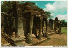 Angkor Wat. Elephants Terrace - Kambodscha