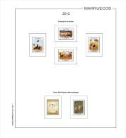 Suplemento Filkasol MARRUECOS 2012 - Montado Hawid - Álbumes & Encuadernaciones