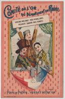 """MONNAIES : """"Comit� de l'Or du d�partement du Rh�ne"""" - carte patriotique - tr�s bon �tat"""