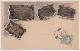 MONNAIES : billets Suisses vers 1900 - tr�s bon �tat