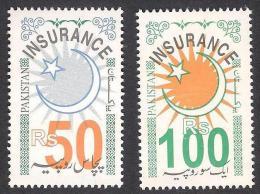 PAKISTAN REVENUE - HIGH VALUE STAMPS Rs. 50 & 100 MNH