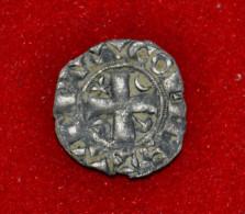 Rare Obole De Champagne - Provins - Thibaut IV - 476-1789 Monnaies Seigneuriales