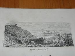 Wien Kahlenberg Österreich Austria Holzschnitt Gravur 1888 - Prints & Engravings