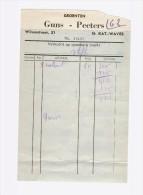 Facture Papier Bon Reçu St Kat. Waver - Factures & Documents Commerciaux