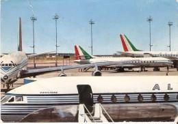 POSTAL DE UNOS AVIONES DE ALITALIA AIRLINES DC.8   PLANE-AVION - 1946-....: Era Moderna