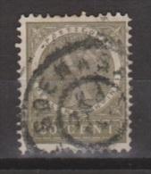 Nederlands Indie Netherlands Indies Dutch Indies 53 Used ; Koningin, Queen, Reine Wilhelmina NICE CANCEL SOERABAJA 1903 - Niederländisch-Indien