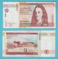 COLOMBIA  10,000  PESOS  25-Noviembre-2.002 2002  SC/UNC/PLANCHA  KM#444?      DL-9550 - Colombia