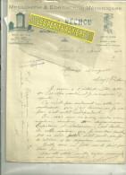 64 – Pyrénées-atlantiques - SOUMOULOU - Facture RECHOU - Menuiserie-ébénisterie -- 1914 - France
