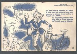 Buvard. Cyclisme Chambre Syndicale Nationale Du Cycle La Bicyclette Permet D'aller Plus Loin... - Sports