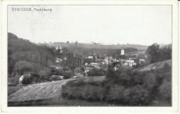 Strigova (Medjlmurje District) Croatia, Yugoslavia Stamps, View Of Town Village, C1920s/30s Vintage Postcard - Croacia