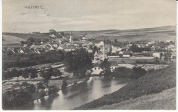 Husinec (Czech Republic) Austria-Hungary Empire Era, View Of Village, John Huus, C1910s Vintage Postcard - Czech Republic
