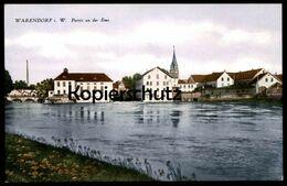 ALTE POSTKARTE WARENDORF IN WESTFALEN PARTIE AN DER EMS Ansichtskarte AK Cpa Postcard - Warendorf