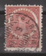 Nederlands Indie Netherlands Indies Dutch Indies 57 Used ; Koningin Queen Reine Wilhelmina NICE CANCEL SOERABAJA 1903 - Niederländisch-Indien