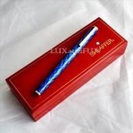 Sheaffer Fashion 284 Tartan Roller Pen - Penna Roller - Never Used - Penne
