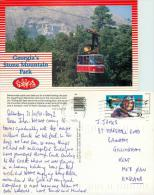 Stone Mountain Park, Georgia, United States US Postcard Posted 1995 Stamp - Other