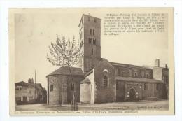 CPA -Eglise D'Uchizy (monument Historique)