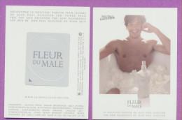 F-Carte à  Patch J.P GAULTIER - Fleur Du Male -   Perfume Card - Cartes Parfumées