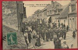 B343 3 Le Crotoy Fete De La St Pierre La Musique Ecrite Date 1912 - Le Crotoy