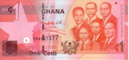 GHANA  1 Cedi  Daté Du 6 Mars 2010     ***** BILLET  NEUF  ***** - Ghana