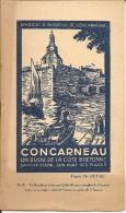 CONCARNEAU - Guide Touristique De 8 Pages D'après Géo Duval - Livres, BD, Revues