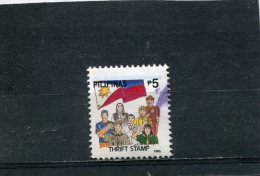 PHILIPPINES. 1999. SCOTT 2599L. SCOUTING. BOY SCOUT, GIRL SCOUT, FLAG, PEOPLE REPRESENTING VARIOUS PROFESSIONS - Philippines
