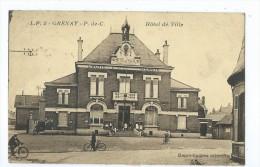 CPA -Grenay - Hotel De Ville - France